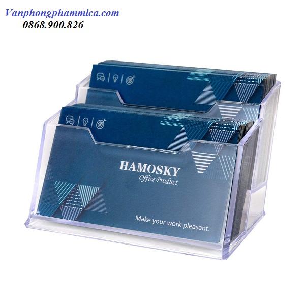 hộp name card mica